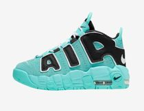 Nike AIR MORE UPTEMPO Unisex Street Style Collaboration Kids Girl Sneakers