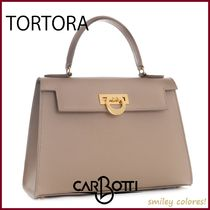 CARBOTTI Casual Style Leather Elegant Style Crossbody Formal Style