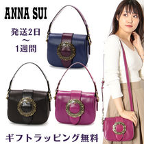 ANNA SUI Flower Patterns Casual Style 2WAY Plain Elegant Style
