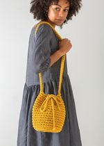 THE SMALL HOME Casual Style Handmade Purses Crossbody Shoulder Bags
