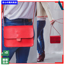 THE SMALL HOME Casual Style Plain Leather Handmade Shoulder Bags