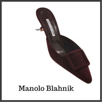 Manolo Blahnik Suede Velvet Plain Home Party Ideas Special Edition