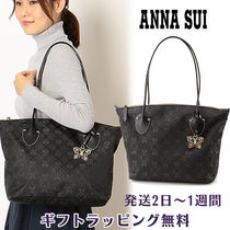 ANNA SUI Casual Style A4 Office Style Elegant Style Totes