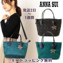 ANNA SUI Casual Style 2WAY Elegant Style Totes