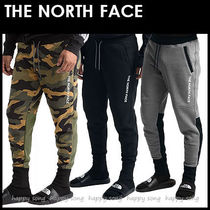 THE NORTH FACE Camouflage Street Style Plain Cotton Khaki
