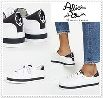 Alice+Olivia Lace-up Low-Top Sneakers