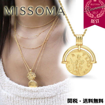 Coin Chain Party Style 18K Gold Elegant Style
