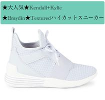 Kendall + Kylie Round Toe Casual Style Street Style Plain Low-Top Sneakers