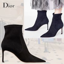 Christian Dior Plain Ankle & Booties Boots