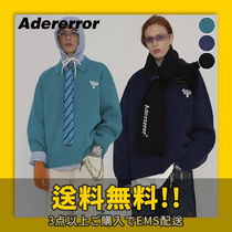 ADERERROR Unisex Street Style Long Sleeves Knits & Sweaters