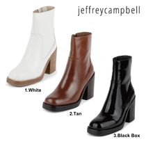 Jeffrey Campbell Casual Style Plain Mid Heel Boots