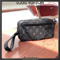 Louis Vuitton MONOGRAM Monogram Unisex Canvas Street Style Bag in Bag 3WAY Bi-color