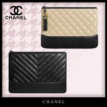 CHANEL Casual Style Tassel Bag in Bag Bi-color Chain Plain Leather