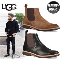 UGG Australia Street Style Plain Leather Chelsea Boots Chelsea Boots