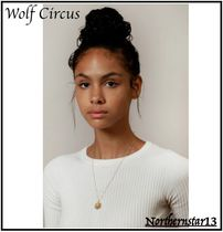 Wolf Circus Casual Style Coin Handmade Silver Office Style 14K Gold