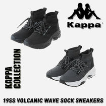 Kappa Casual Style Unisex Street Style Low-Top Sneakers