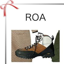 ROA Casual Style Blended Fabrics Plain Low-Top Sneakers