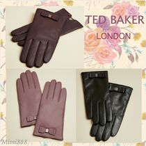 TED BAKER Cashmere Leather Leather & Faux Leather Gloves