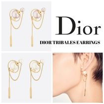 Christian Dior Casual Style Blended Fabrics Chain Party Style Elegant Style