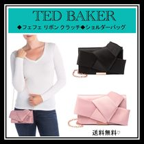 TED BAKER Casual Style Blended Fabrics 2WAY 3WAY Bi-color Chain Plain