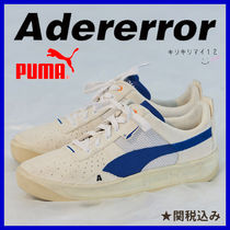 ADERERROR Unisex Faux Fur Street Style Collaboration Plain Sneakers