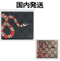 GUCCI GG Supreme Monogram Blended Fabrics Street Style Other Animal Patterns