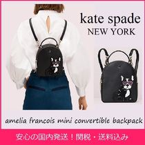 kate spade new york Casual Style 3WAY Leather Backpacks