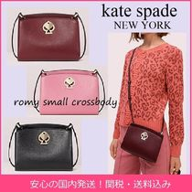 kate spade new york romy Casual Style Plain Leather Crossbody Shoulder Bags