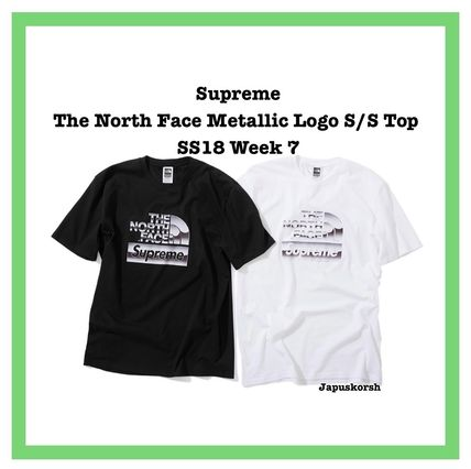 Supreme Collaboration Street Style T-Shirts
