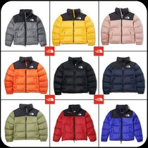 THE NORTH FACE Nuptse Unisex Plain Down Jackets
