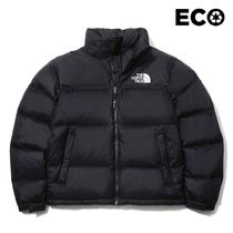 THE NORTH FACE Nuptse Unisex Street Style Plain Logo Down Jackets