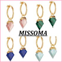 MISSOMA Casual Style Handmade Party Style 18K Gold Elegant Style