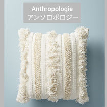 Anthropologie Unisex Blended Fabrics Plain Decorative Pillows