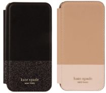 kate spade new york Studded Plain Leather Smart Phone Cases