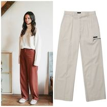 WV PROJECT Unisex Street Style Long Pants