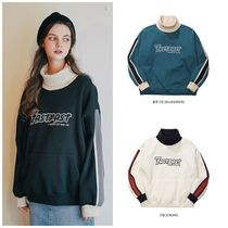 WV PROJECT Unisex Street Style Long Sleeves Cotton Oversized