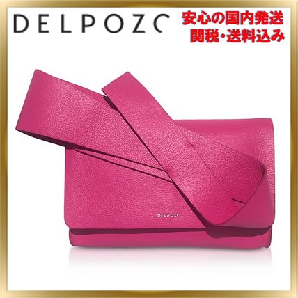 Plain Leather Party Style Elegant Style Handbags