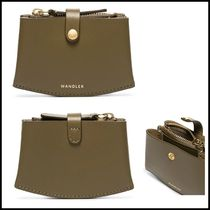 WANDLER Casual Style Calfskin Plain Party Style Office Style