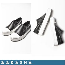 Aakasha Casual Style Leather Handmade Low-Top Sneakers