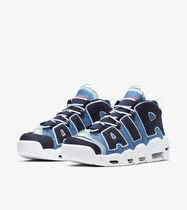 Nike AIR MORE UPTEMPO Casual Style Unisex Shoes