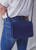 THE SMALL HOME Casual Style Plain Leather Crossbody Shoulder Bags