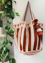 THE SMALL HOME Casual Style A4 Handmade Totes