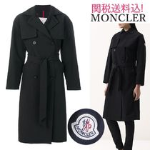 MONCLER ROCHE Plain Trench Coats