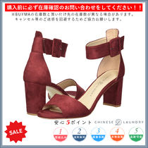 CHINESE LAUNDRY Open Toe Casual Style Plain Chunky Heels Sandals Sandal