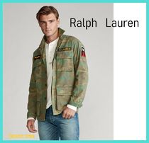 Ralph Lauren Camouflage Long Sleeves Cotton Shirts