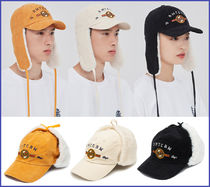 ROMANTIC CROWN Unisex Street Style Wide-brimmed Hats