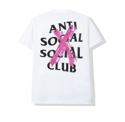 ANTI SOCIAL SOCIAL CLUB More T-Shirts Unisex Street Style Cotton Logo T-Shirts 3