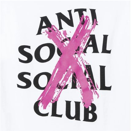 ANTI SOCIAL SOCIAL CLUB More T-Shirts Unisex Street Style Cotton Logo T-Shirts 4