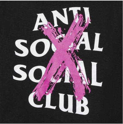 ANTI SOCIAL SOCIAL CLUB More T-Shirts Unisex Street Style Cotton Logo T-Shirts 9