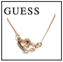 Guess Casual Style Blended Fabrics Brass Necklaces & Pendants